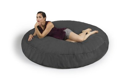Cocoon 6' Bean Bag Charcoal