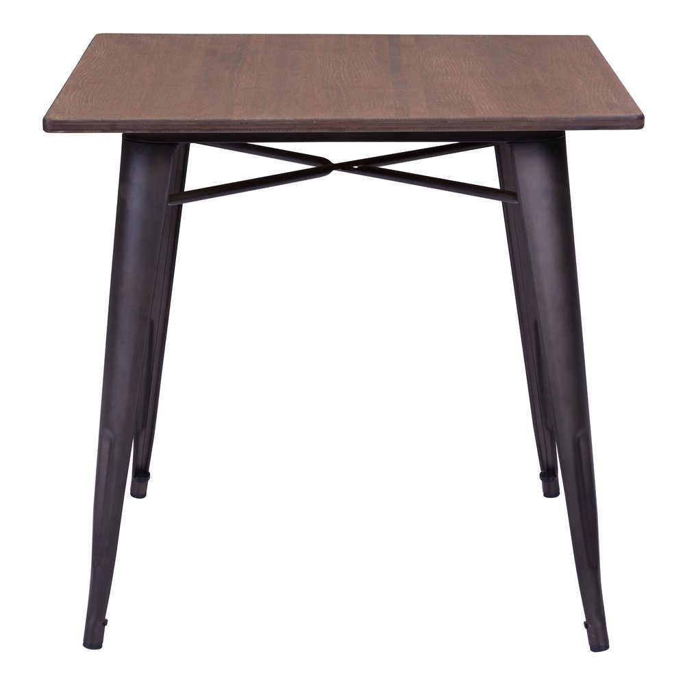 Titus Dining Table Rusty Wood