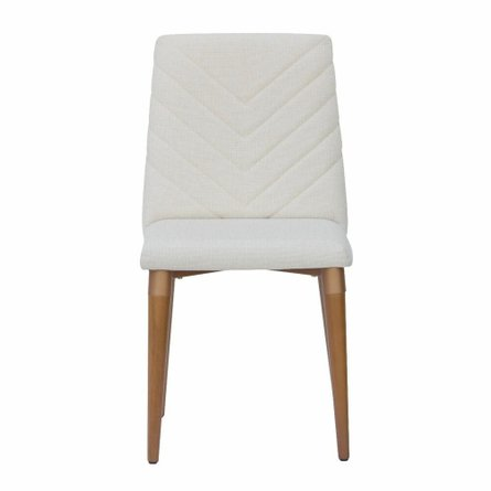 Utopia Chevron Dining Chair Beige