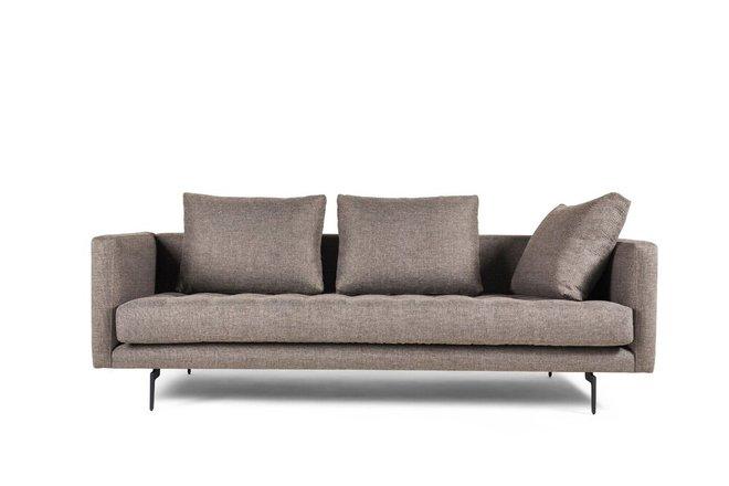 Granville Tweed Sofa Beige Champaign