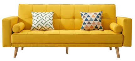 116 Sofa Bed Yellow