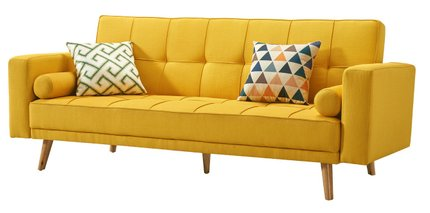 116 Sofa Bed Yellow