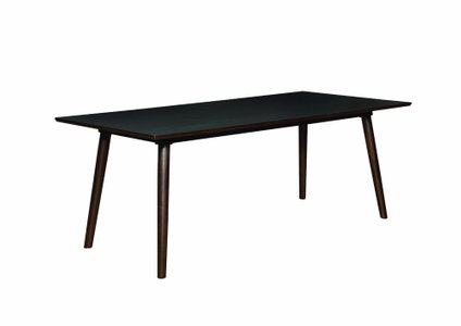 Jarmen Rectangle Dining Table Medium Brown