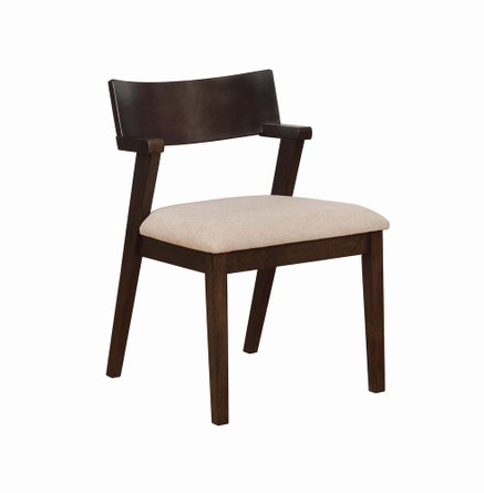 Jarmen Dining Chair Light Brown (Set Of 2)