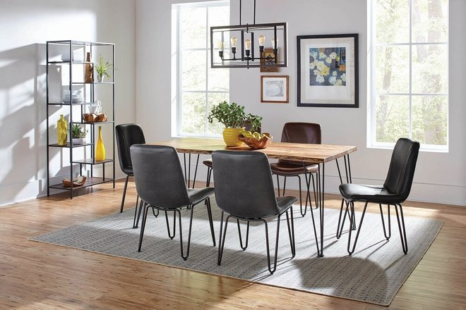 Chambler Dining Chair Gray (Set Of 4)
