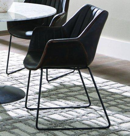 Modern Antique Dining Chair Espresso (Set Of 2)