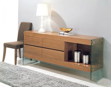 Modrest Aura Buffet Walnut