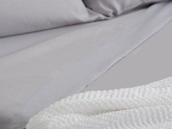 Sleepy's Basic 4-Piece King Sheet Set Gray