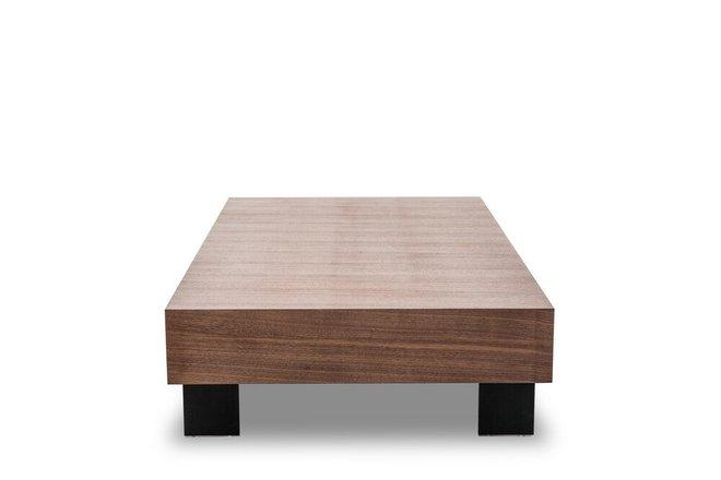 Modrest Stilt Coffee Table Walnut