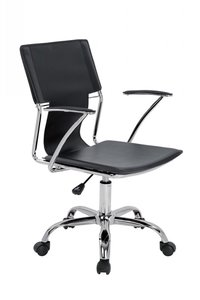 Emery Office Desk Chair Black