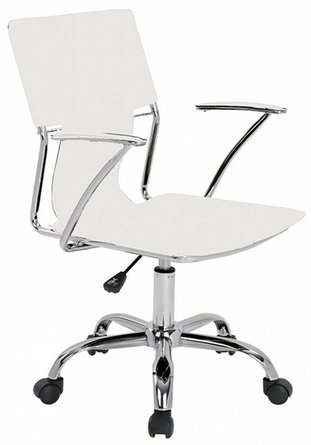 Emery Office Desk Chair White