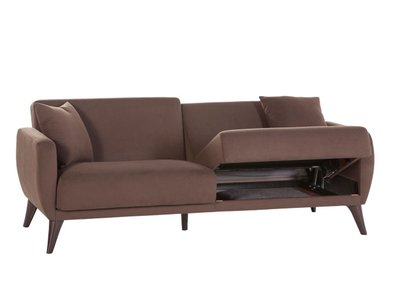Flexy Sleeper Sofa Brown