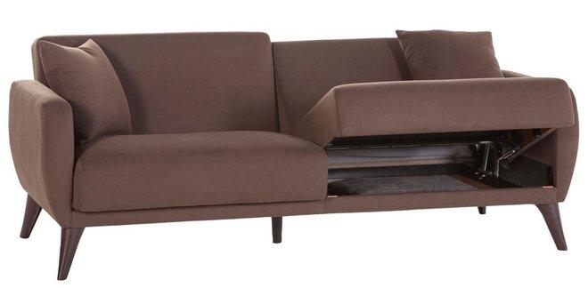 Flexy Sleeper Sofa Brown