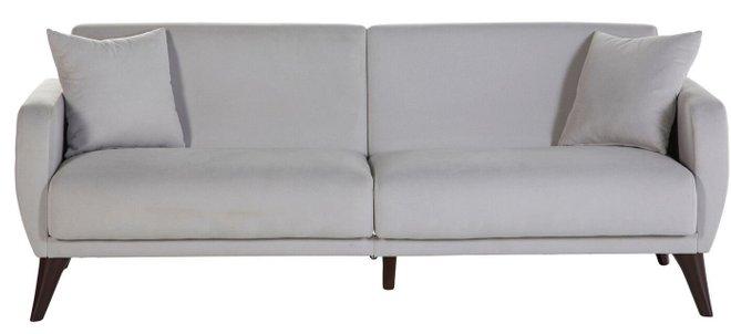 Flexy Sleeper Sofa Light Gray