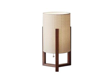 Quinn Table Lantern Walnut