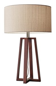 Quinn Table Lamp Walnut