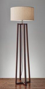 Quinn Floor Lamp Walnut