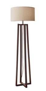 Quinn Floor Lamp Walnut