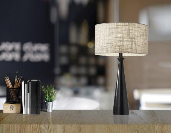 Linda Table Lamp Black