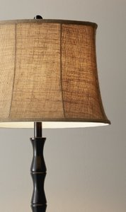 Stratton Floor Lamp Black
