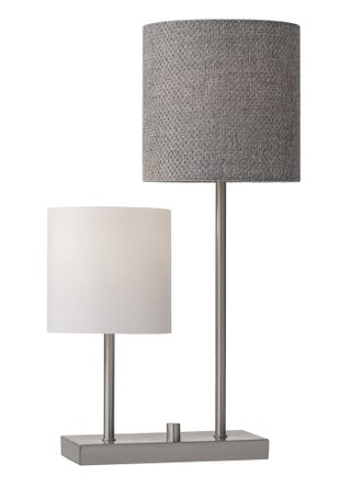Aubrey Table Lamp Brushed Steel
