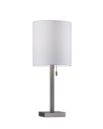 Liam Table Lamp Brushed Steel