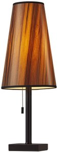 Ava Table Lamp Black