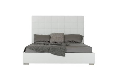 Francis Modern Queen Bed White
