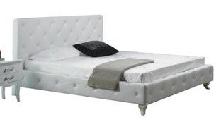 Monte Carlo Modern Twin Bed White