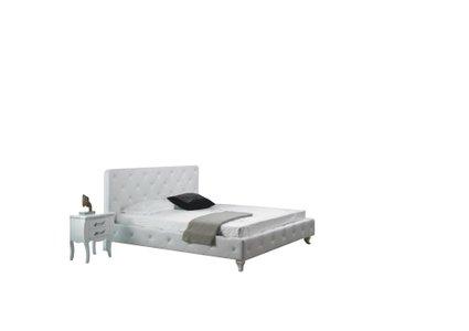 Monte Carlo Modern Twin Bed White