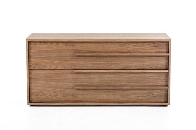 Modrest Beth Modern Dresser Walnut
