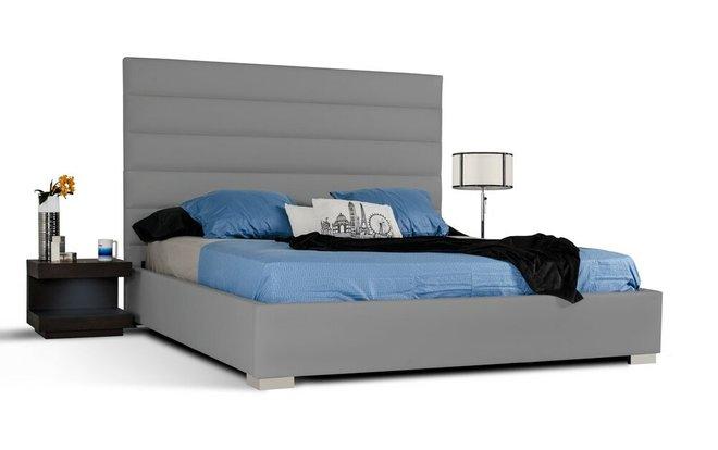 Kasia California King Bed Gray