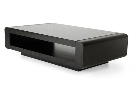 Modrest Lignite Modern Coffee Table Black Oak