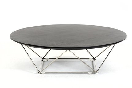 Modrest Spoke Modern Coffee Table Wenge