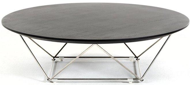 Modrest Spoke Modern Coffee Table Wenge
