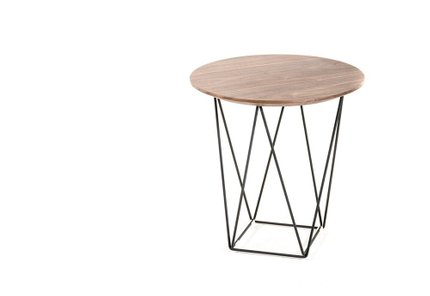 Modrest Spoke End Table Walnut