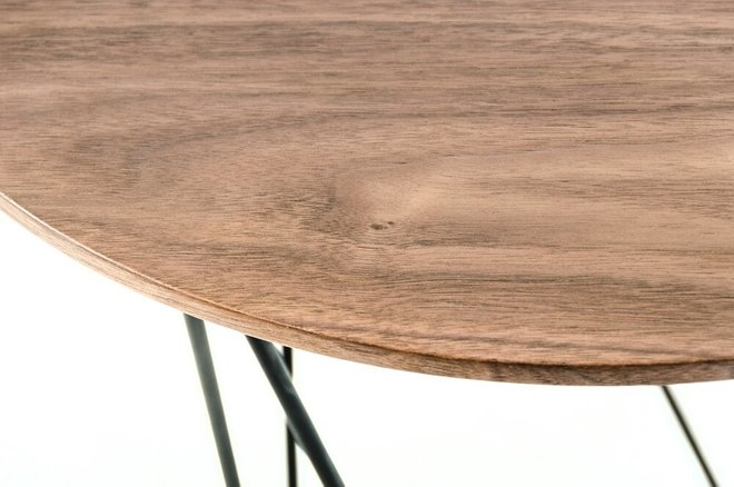 Modrest Spoke End Table Walnut