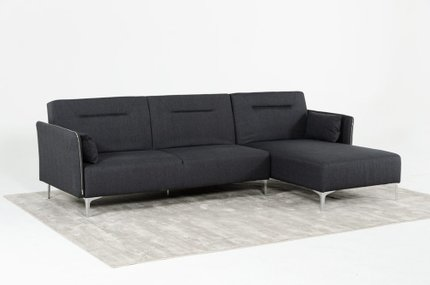 Divani Casa Rixton Modern Sofa Bed Sectional Gray