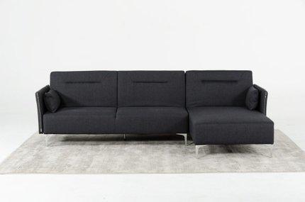 Divani Casa Rixton Modern Sofa Bed Sectional Gray