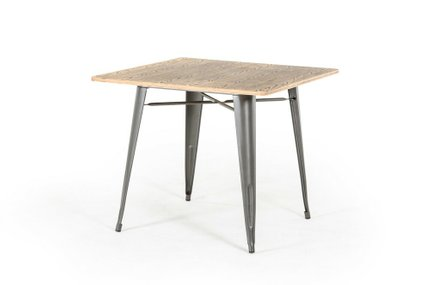 Modrest T-14005 Modern Square Dining Table Grey