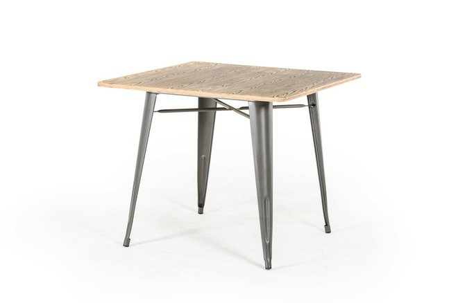 Modrest T-14005 Modern Square Dining Table Gray