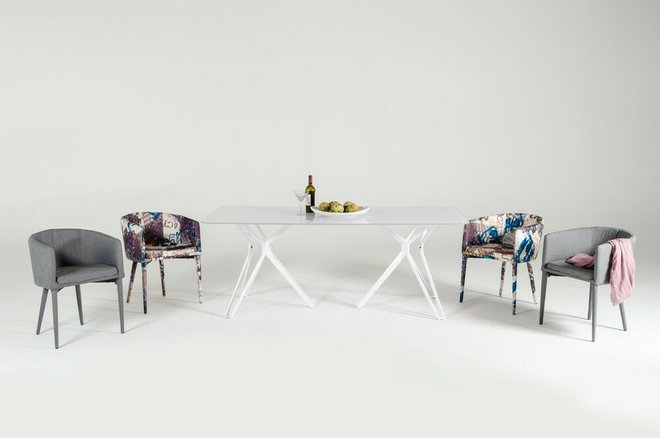 Harmony Modern Dining Table White