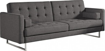 Divani Casa Bauxite Modern Sleeper Sofa Bed Gray