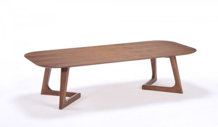 Jett Modern Coffee Table Walnut