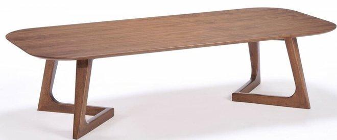 Jett Modern Coffee Table Walnut