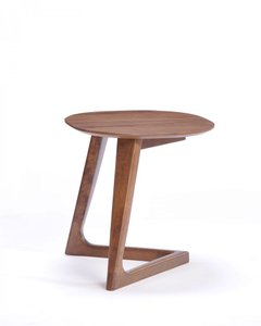 Modrest Jett Modern End Table Walnut