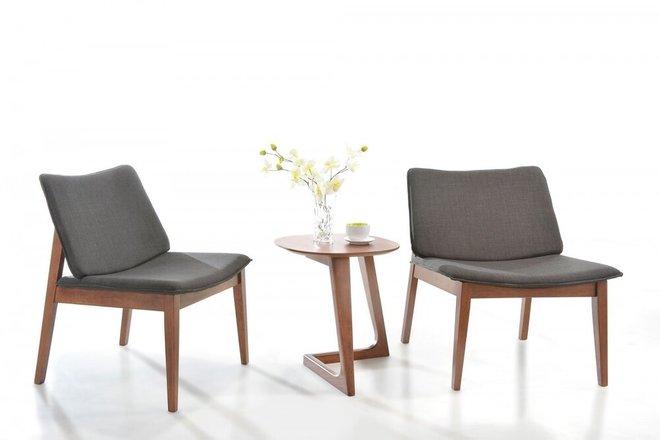 Modrest Jett Modern End Table Walnut