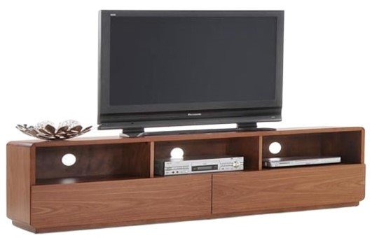 Jett Modern TV Stand Walnut