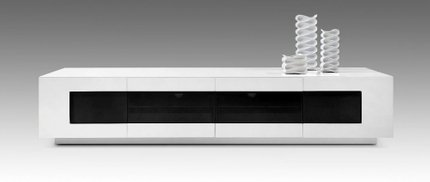Frost Modern TV Unit White