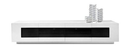 Frost Modern TV Unit White